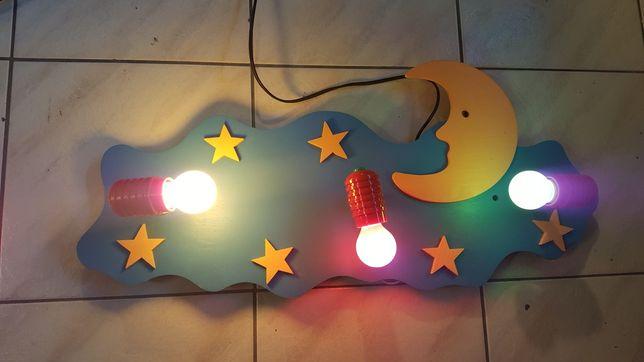 Lampa Chmurka do pokoju dziecinnego