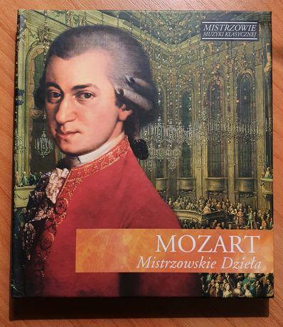 Mistrzowie muzyki klasycznej Mozart Mistrzowskie dzieła CD