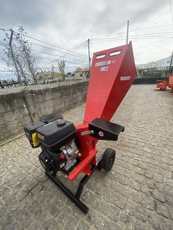bio triturador estilhador 9CV gasolina