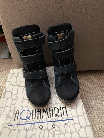 Сникерсы ,ботинки зимние кожаные