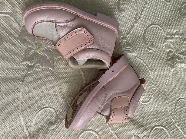 Весенние ботинки демисезонные ботиночки ортопедические woopy orthopedi