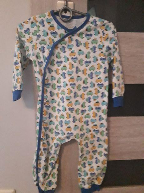 Pajac piżamka 74/80