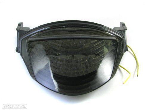 farolim traseiro suzuki gsxr 1000 ano 2005 - 2006 smoke