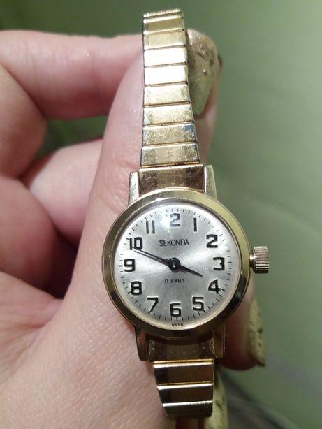 Срочно скидка. Seconda jewels 17 Часы коллекционные винтаж рабочие