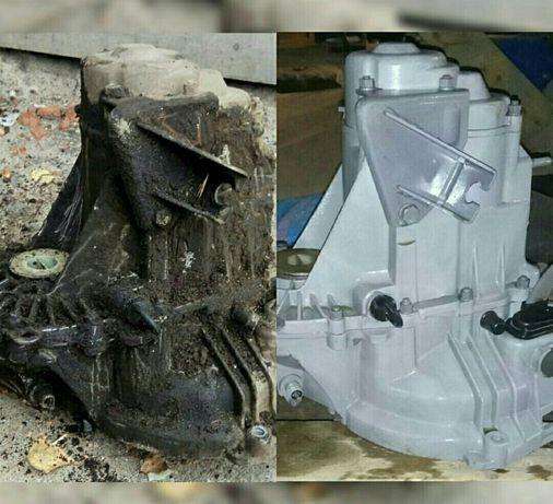 Мойка деталей двигателя, топливных баков (гбц, блок)