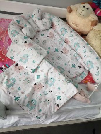 Kokon do spania dla dziewczynki