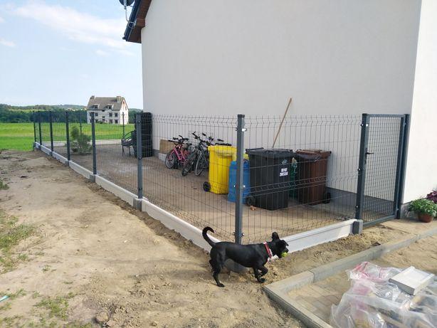 Montaż ogrodzeń, panelowe, siatka, furtki itp