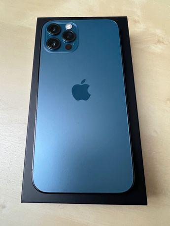 Iphone 12 Pro 256 - niebieski, świetny stan, gwarancja, zakupiony w PL
