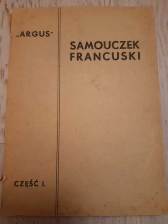 Unikat Samouczek francuski z 1937 roku