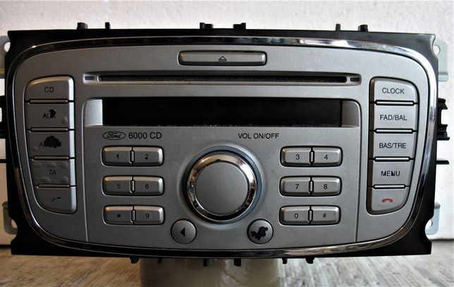 Radio 6000 CD Ford Focus MK II z kodem