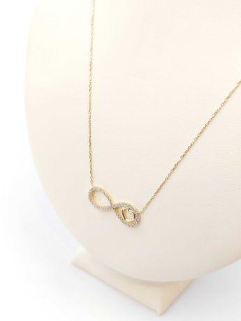 Złoty łańcuszek/celebrytka Pr. 585 Waga: 2,68 G Plus Lombard