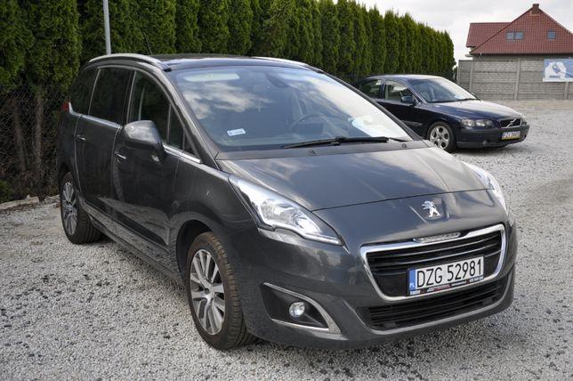 Peugeot 5008 7 os Inny w rozliczeniu.