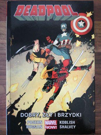Deadpool - Dobry, zły i brzydki  komiks Marvel