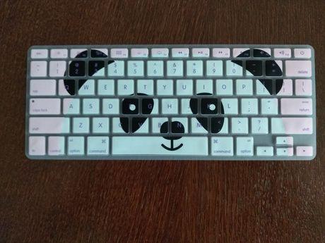 Nakładka na klawiaturę, panda, MacBook