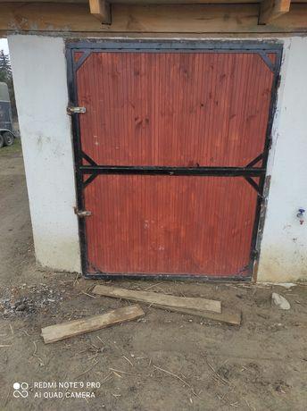 Drzwi do stajni łamane 160x210