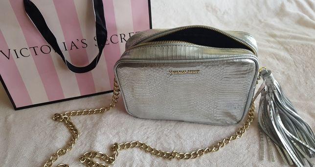 Srebrno złota torebka Victoria's Secret