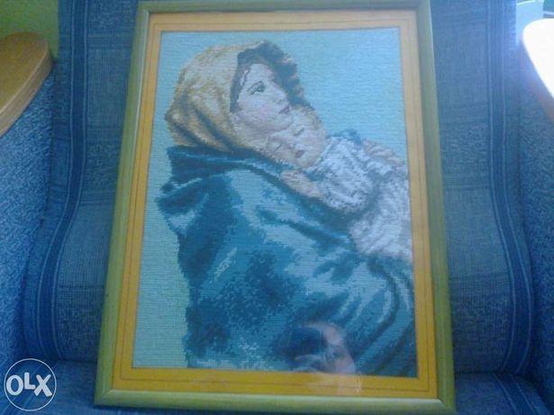 Obraz haftowany ręcznie