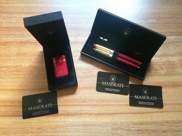 Conjunto de Colecção (2 Canetas + 1 Isqueiro) - Maserati