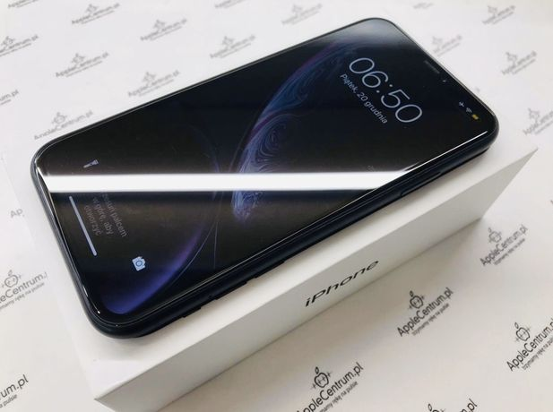 PROMOCJA • iPhone XR 64GB Space Grey • GWAR 03.2020 • AppleCentrum