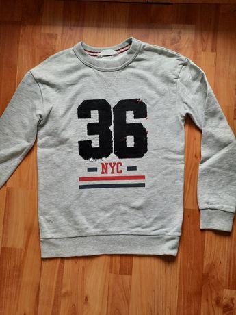 Bluza z cekinami H&M r. 146/152
