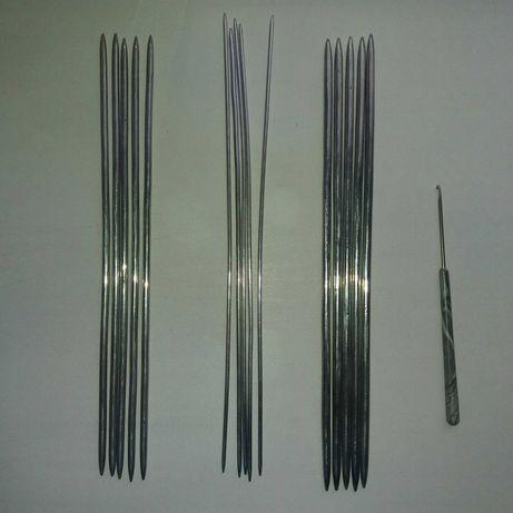 Спицы и крючок для вязания