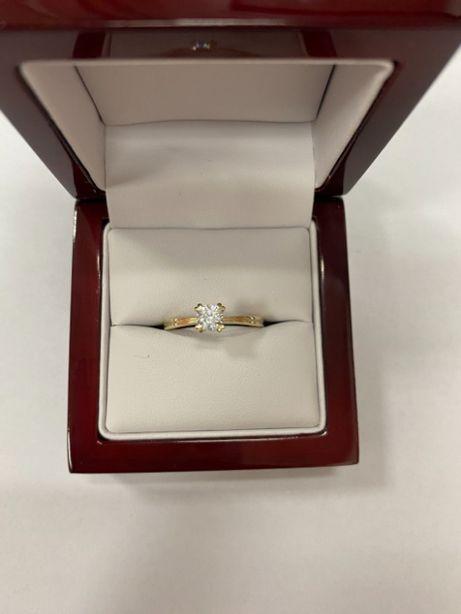 złoty pierścionek p333 2,05g
