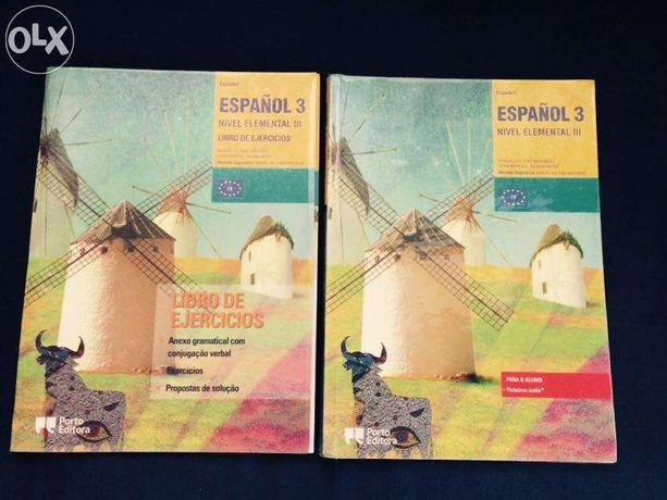 """Manual de Espanhol 9º ano - """" Español 3 """""""