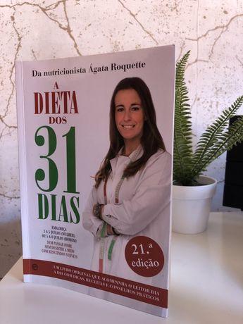 """""""Dieta dos 31 dias """"de Ágata Roquette"""