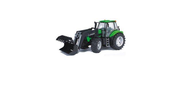 BRUDER 03081 Traktor Deutz Agrotron z ładowaczem ZABAWKA