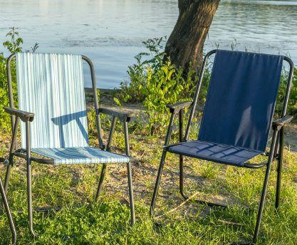 Стул кресло складное «Фидель» для пикника, рыбалки, дачи.