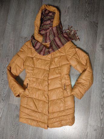 Sale. Шикарный пуховик зимняя куртка на девочку р.С-М Турция