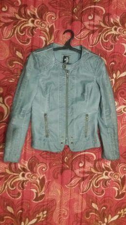 Женская кожаная куртка 100% Cotton.Доставка бесплатная