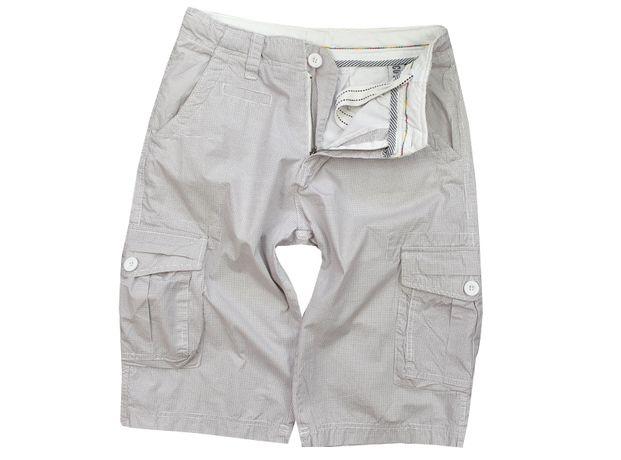 NTJ 32 j.NOWE BOJÓWKI SPODENKI za kolano kratka męskie lato pas 80cm