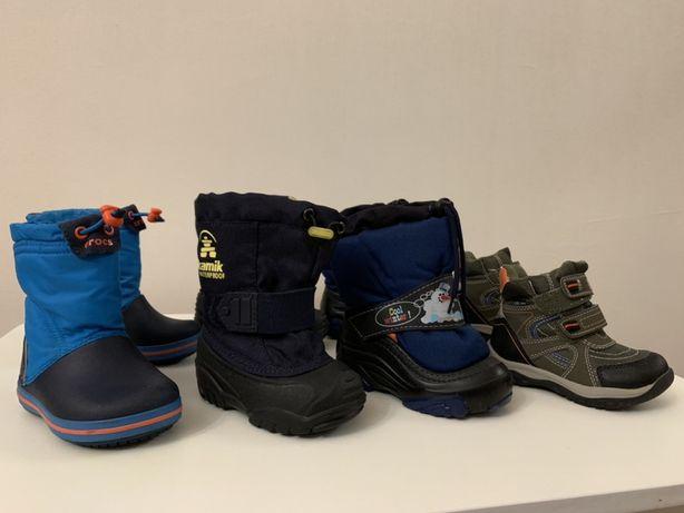 Сапоги Crocs, Kamik, Demar, ботинки ice road 22 23 размер