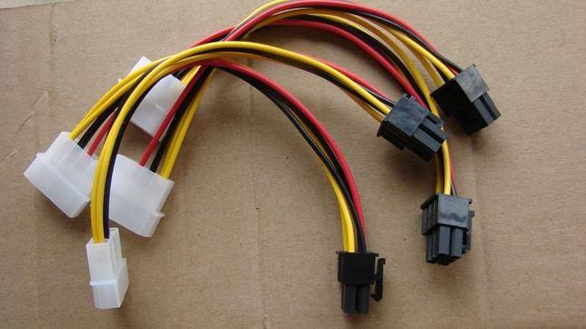 Переходник для питания видеокарт (molex - 6 pin)
