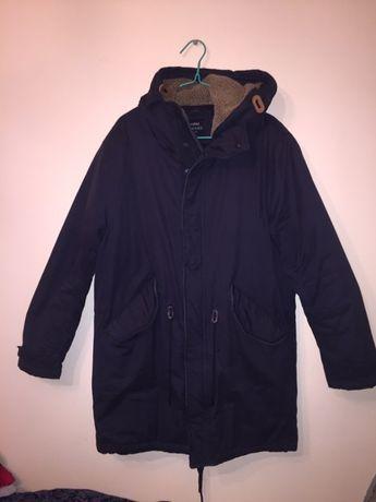 Bershka парка зимняя куртка