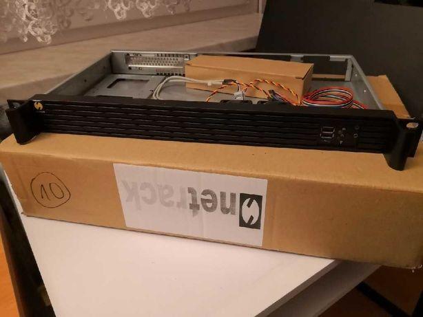 """Obudowa serwerowa Mini-ITX Netrack 19"""" 1U"""