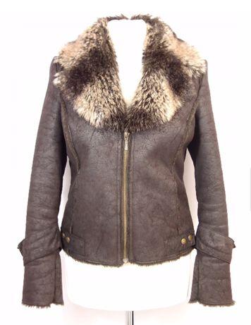 Kożuszek kożuch kurtka roz S jesień-zima
