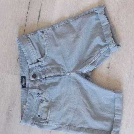 шорты джинсовые jack jones