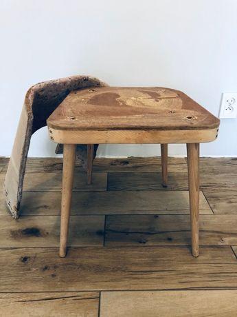 """krzesła """"muszelka"""" PRL"""