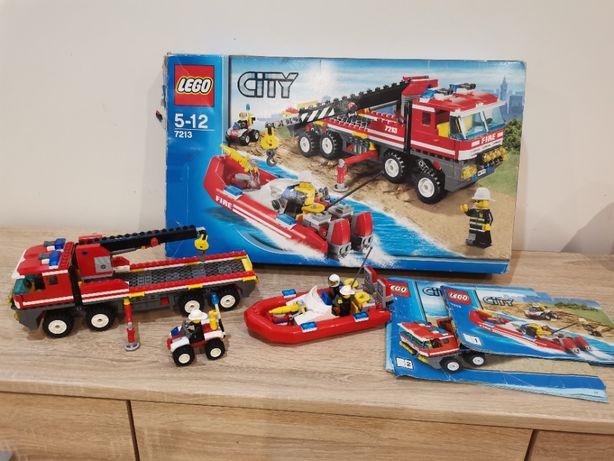 Klocki Lego City 7213 Straż Pożarna budełko instrukcja