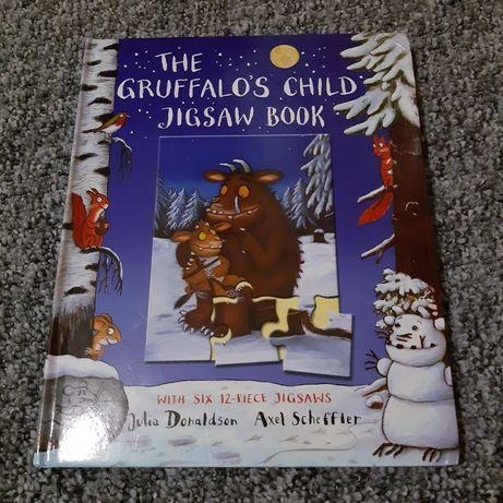 Книга-картонка на английском для детей с пазлами. Gruffalo/Груффало