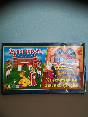 Gra dwie plansze Żabi Król / Księżniczka na ziarnku grochu