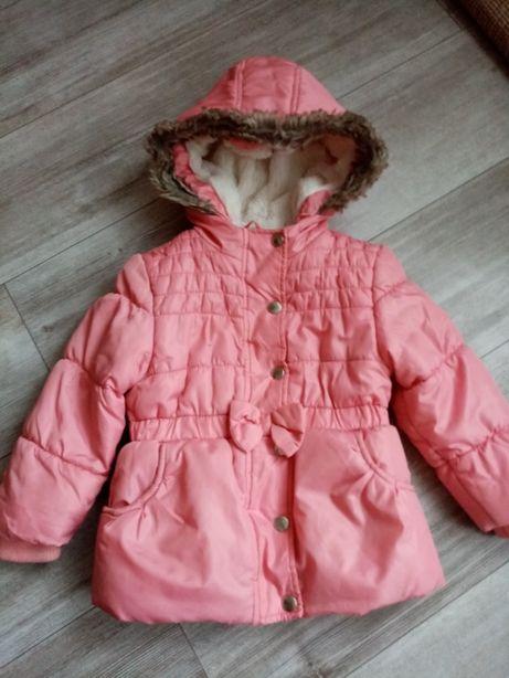 Kurtka kurteczka F&F roz 98-104 Zima ubranka ubrania