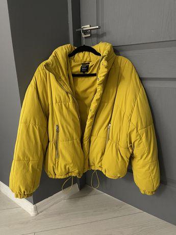 Куртка весенняя. ZARA , ЗАРА. Размер XC оверсайз