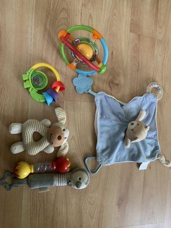 Zabawki sensoryczne, grzechotka