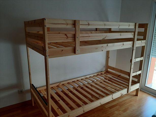 Beliche criança novo + colchões incluidos
