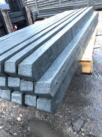 Słupki betonowe do siatki / leśnej/ sadownicze