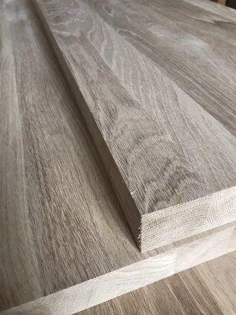 Stopnie drewniane, schody dębowe