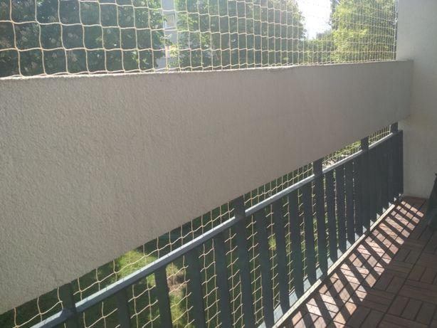 Odstraszanie ptaków, siatki na gołębie, siatki na balkon dla kota